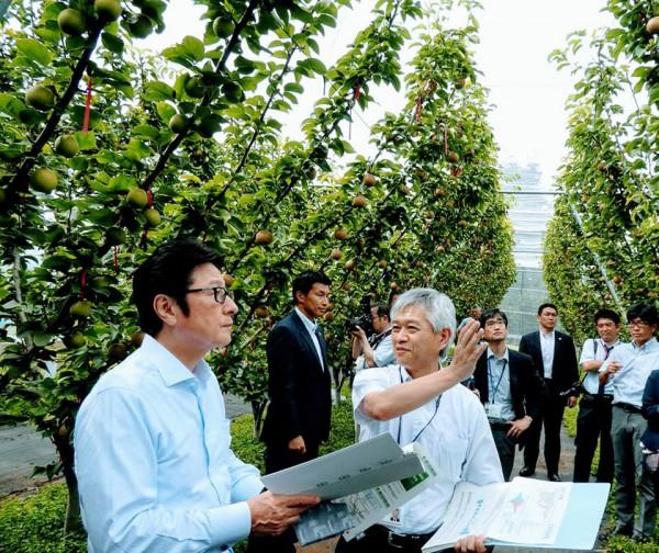 農業・食品産業技術総合研究機構視察